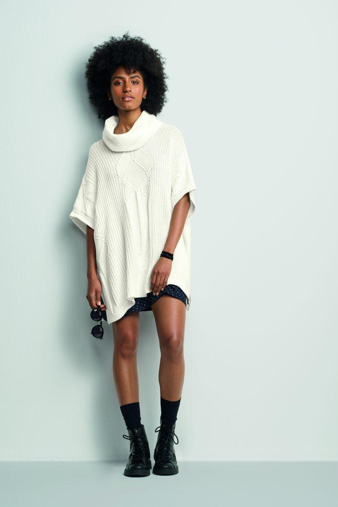 Modelagem ampla: blusa em malha da Hering. Foto: divulgação