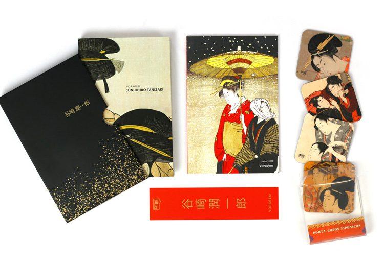 Exemplo de kit literário da TAG. Foto: divulgação