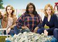 GOOD GIRLS - Netflix:e a série acompanha três donas de casa que passam por dificuldades financeiras e, para sustentar a família, decidem fazer um grande roubo num supermercado. Foto: Netflix