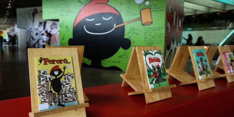 Exposição sobre o cartunista e escritor Ziraldo, no Sesc Interlagos. Foto: Felipe Rau/Estadão
