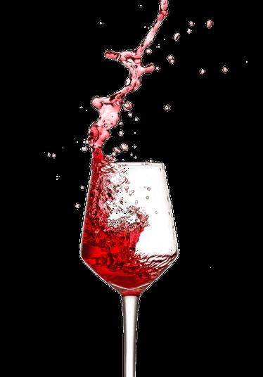 Uma taça simples, grande, serve para todos os tipos de vinho. Foto: Pexels