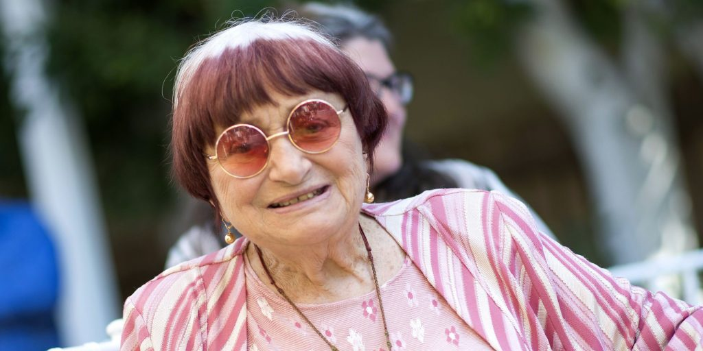 A cineasta francesa Agnes Varda. Foto: AFP/Valerie Macon
