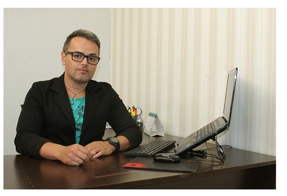 Marcos de Freitas, secretário de Educação de Ribeirãozinho, no Mato Grosso. Foto: divulgação