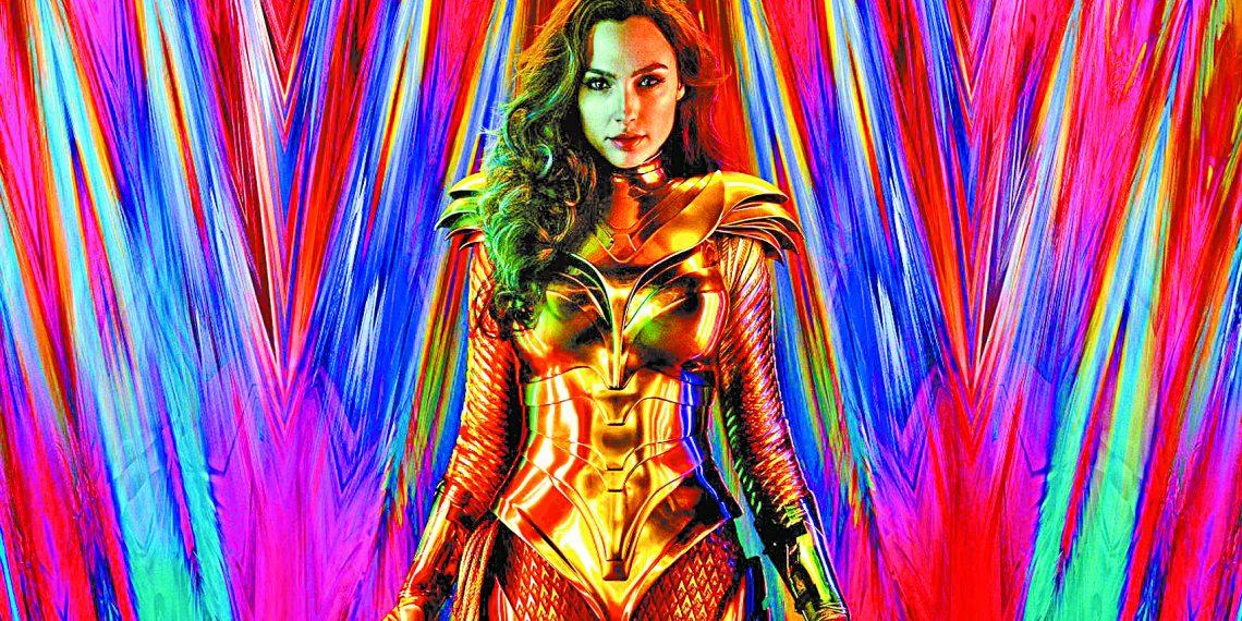 Pôster da sequência inédita 'Mulher-Maravilha 1984', que estreia em 2020. Foto: Warner