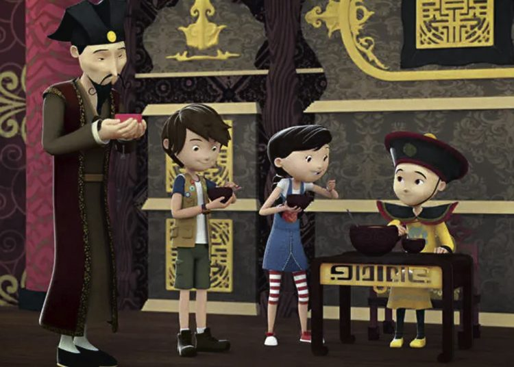 Animação 'Diário de Pilar'/Nat Geo Kids