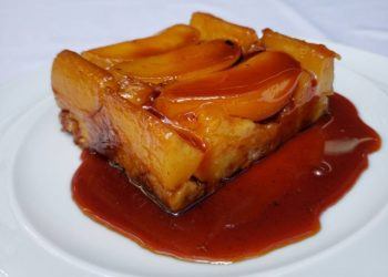 Torta de pera do confeiteiro Arnor Porto. Foto: Renata Romanholi