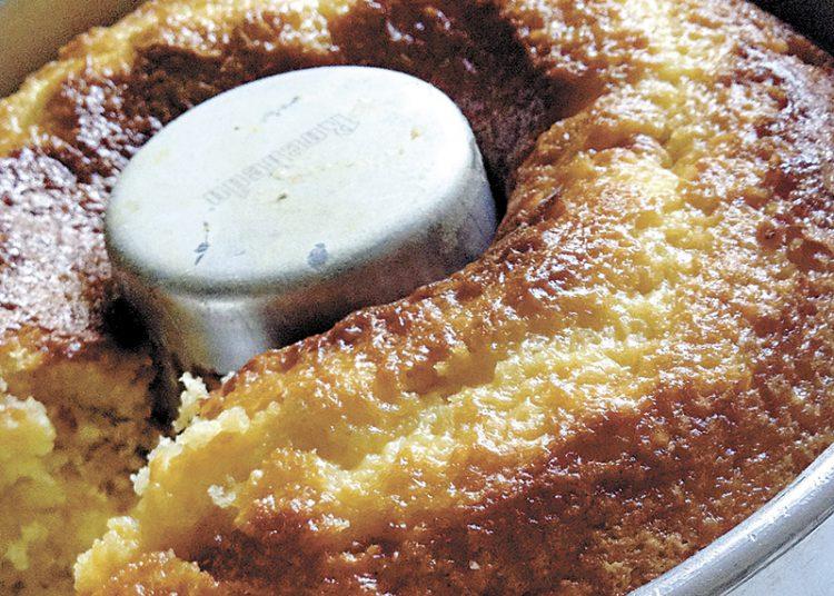 Receita de bolo de laranja. Foto: Viviane Zandonadi