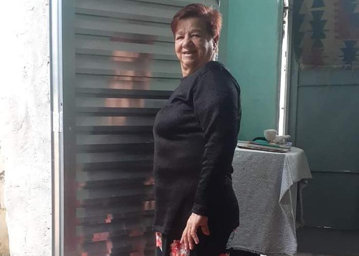 Terezinha de Jesus Freitas, do Capão Redondo, recebeu ajuda da Escola Feminista Abya Yala. Foto: Escola Feminista de Abya Yala/Divulgação