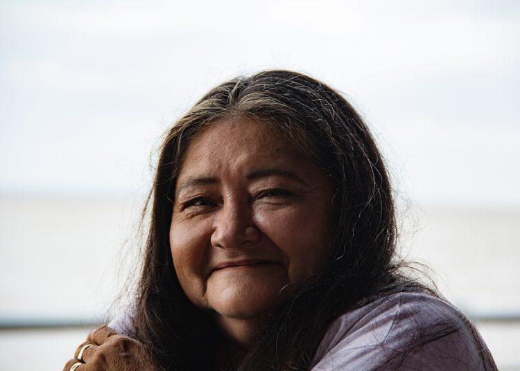 Alzira Freitas, 67 anos, participante do projeto Costuraê, em Belém. Foto: João Urubu/DaTribu